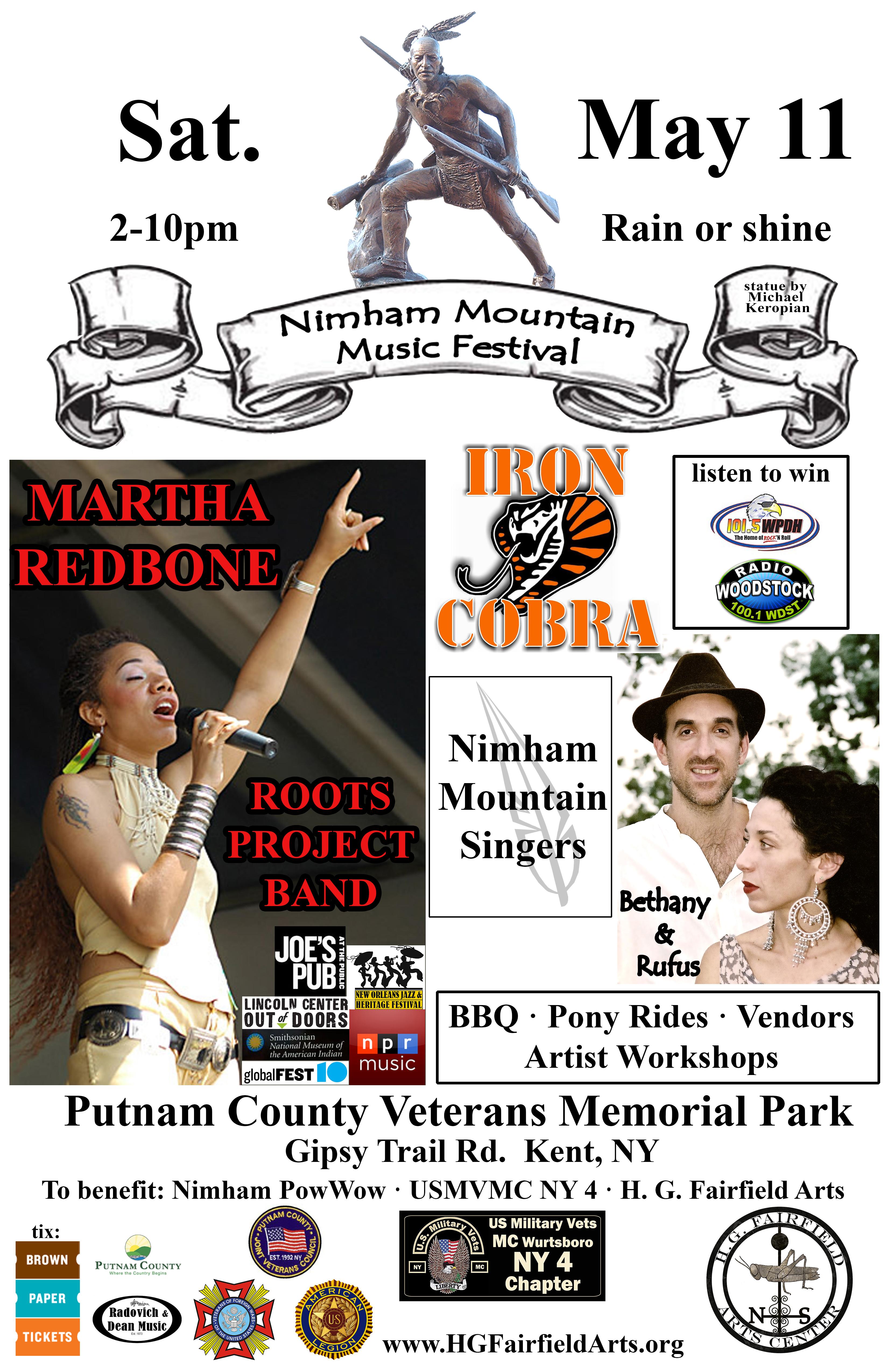 HGF Nimham Mountain Music Festival poster v4 w Nimham - updated time newest