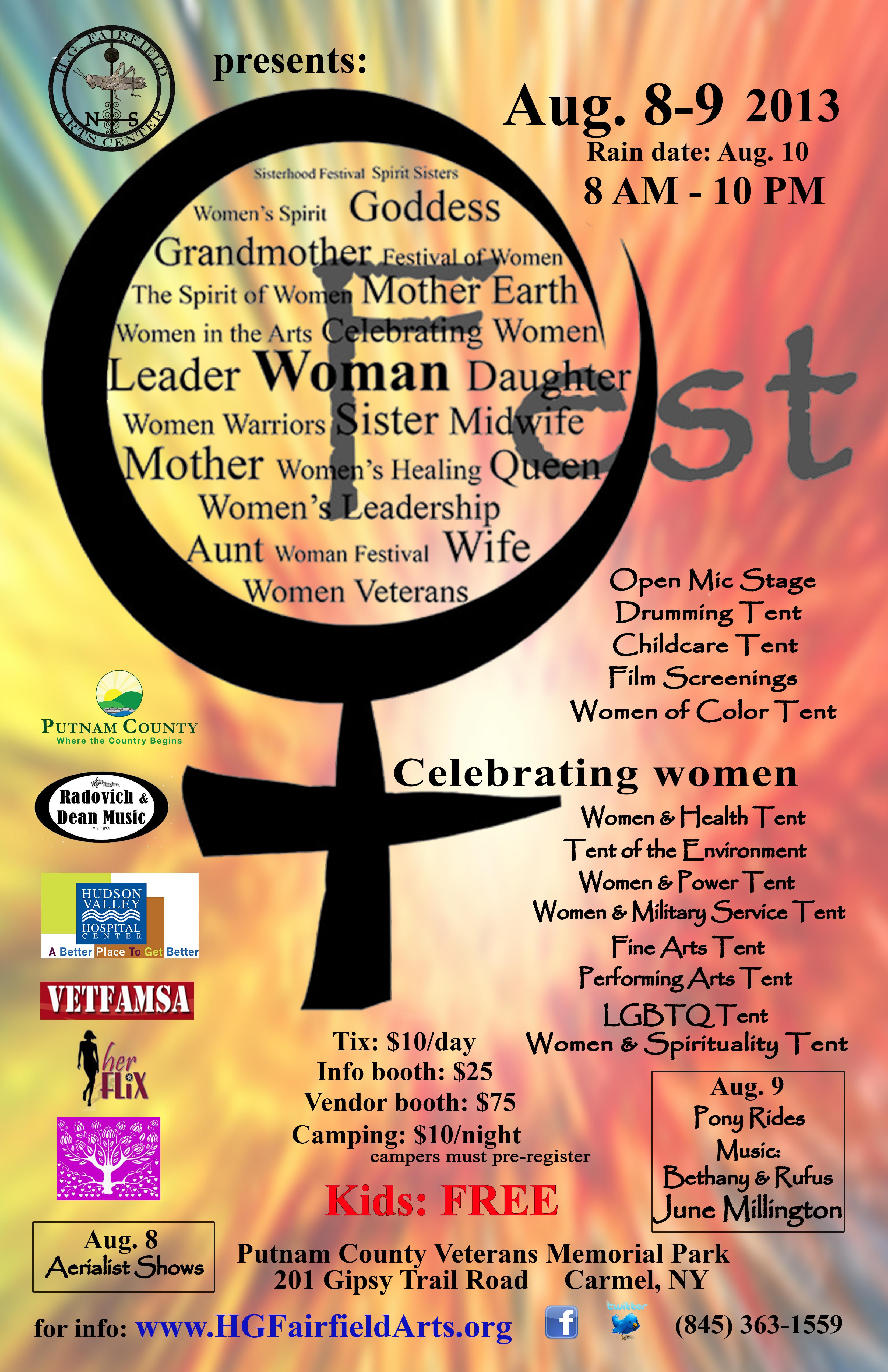 Woman Fest Poster wcolor Carmel FLAT