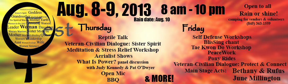 2nd Woman Fest webslider - updates wo schedule