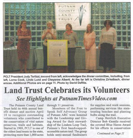 PUT-TIMES-Land Trust Celebrates its Volunteers-04292015