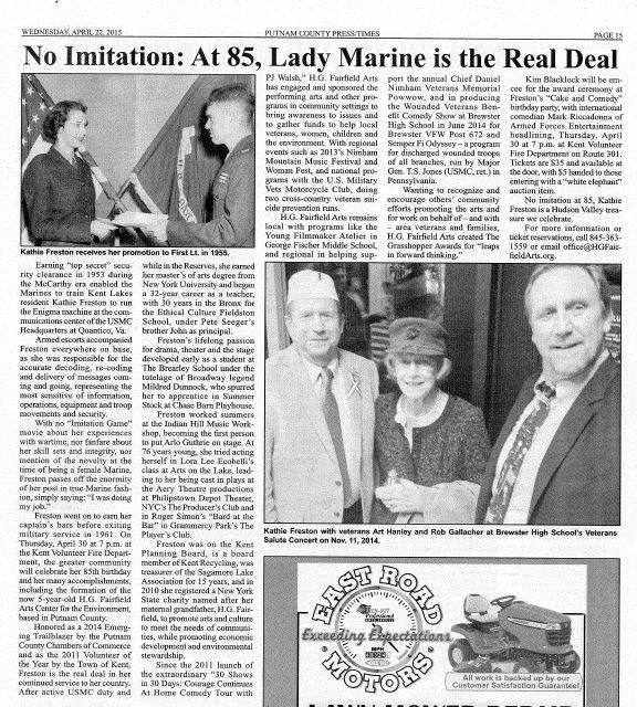 PUT-TIMES-at 85, Lady Marine is the Real Deal-42215